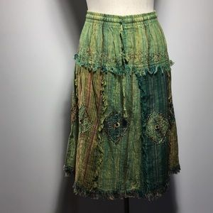 Dresses & Skirts - Beautiful boho skirt with draw string
